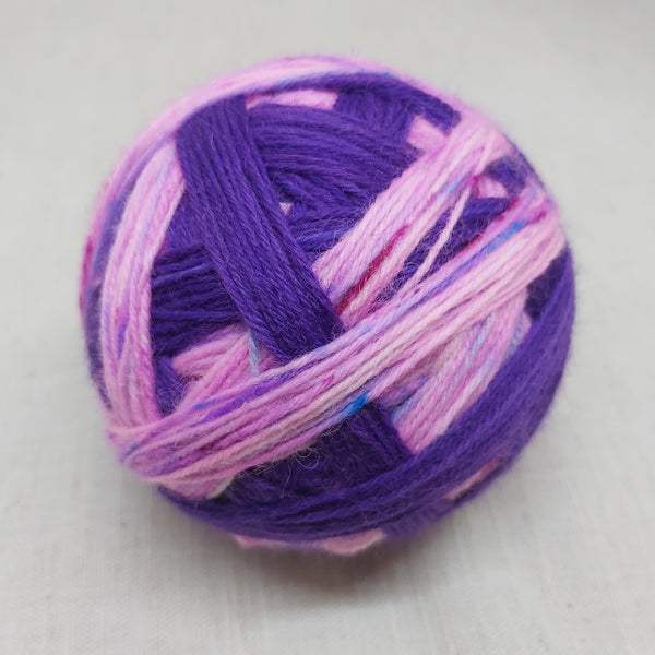 Not-So-Micro: The Purpling  - 100g Self Striping