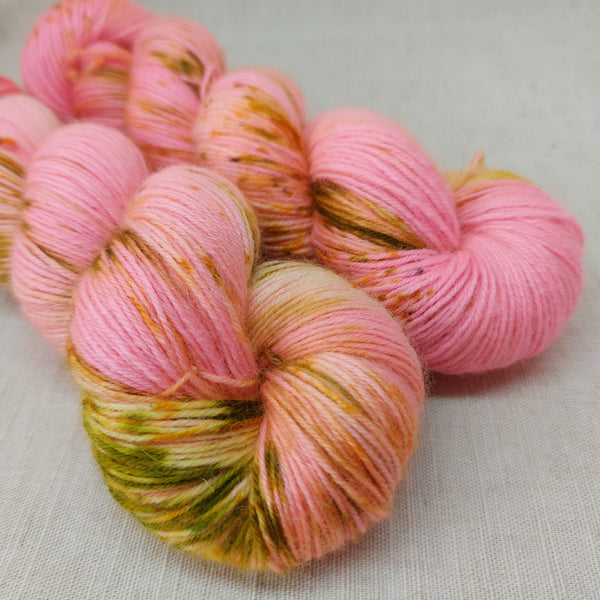 OOAK Love in Springtime - BFL Sock