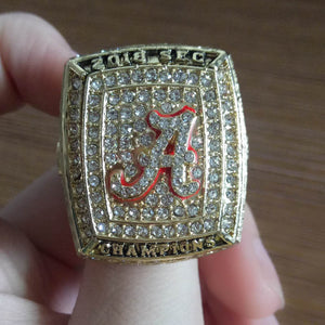 New  2018 SEC alabama  Championship Ring 8-13  2018 SEC alabama Necklace