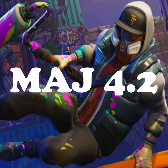 Fortnite : mise à jour 4.2, patch note