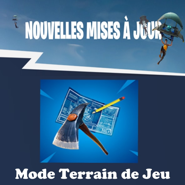 Fortnite: Le mode Terrain de jeu arrive