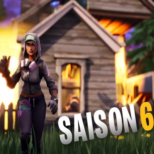 Les infos de la saison 6 de Fortnite Battle Royale