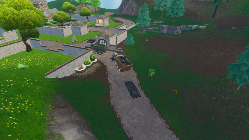 carte fortnite modifié Snobby Shores