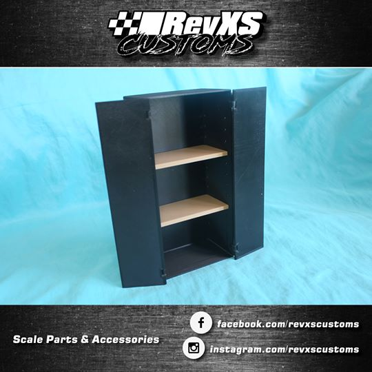 RevXS Customs: 1:10 Scale Cabinet