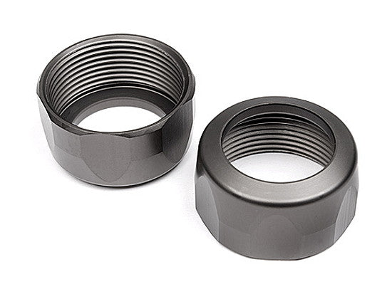 HPI Racing: Shock Cap 20x12mm (Gunmetal)