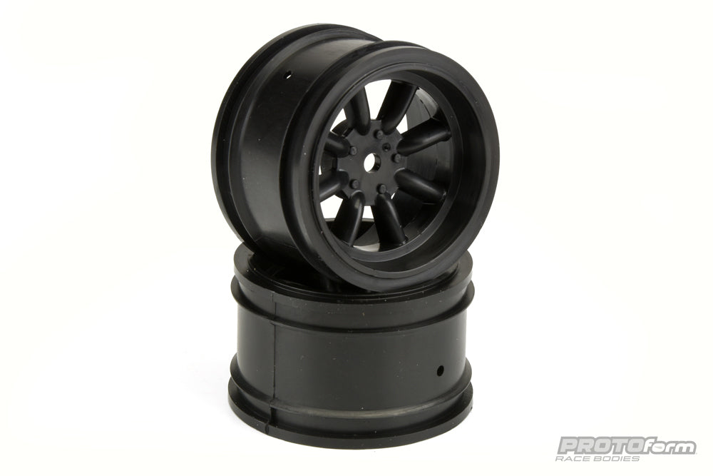 PROTOform: 31mm VTA Vintage Rims - BLACK (2 pcs)