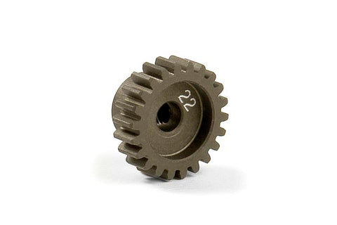 XRAY: Narrow Alu Hard Coated 22T 48P Pinion