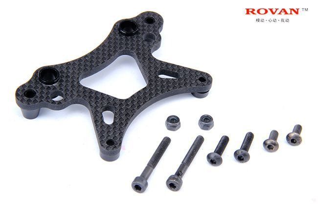 Rovan Sports: Carbon Front Shock Mount