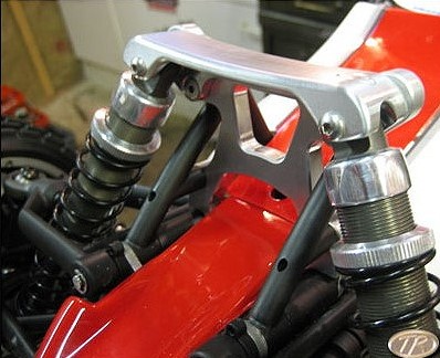 Turtle Racing: HD Front Mount/Shock Tower Combo for HPI Baja 5B