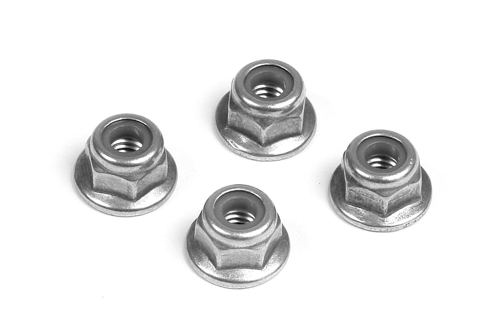 XRAY: M4 Nut with Flange (10)