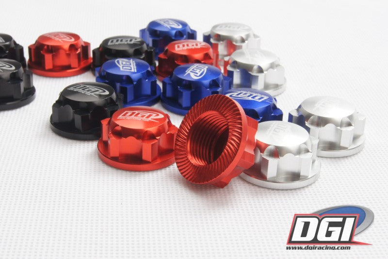 DGI Racing: Aluminum Wheel Nuts for HPI Baja 5B/5T