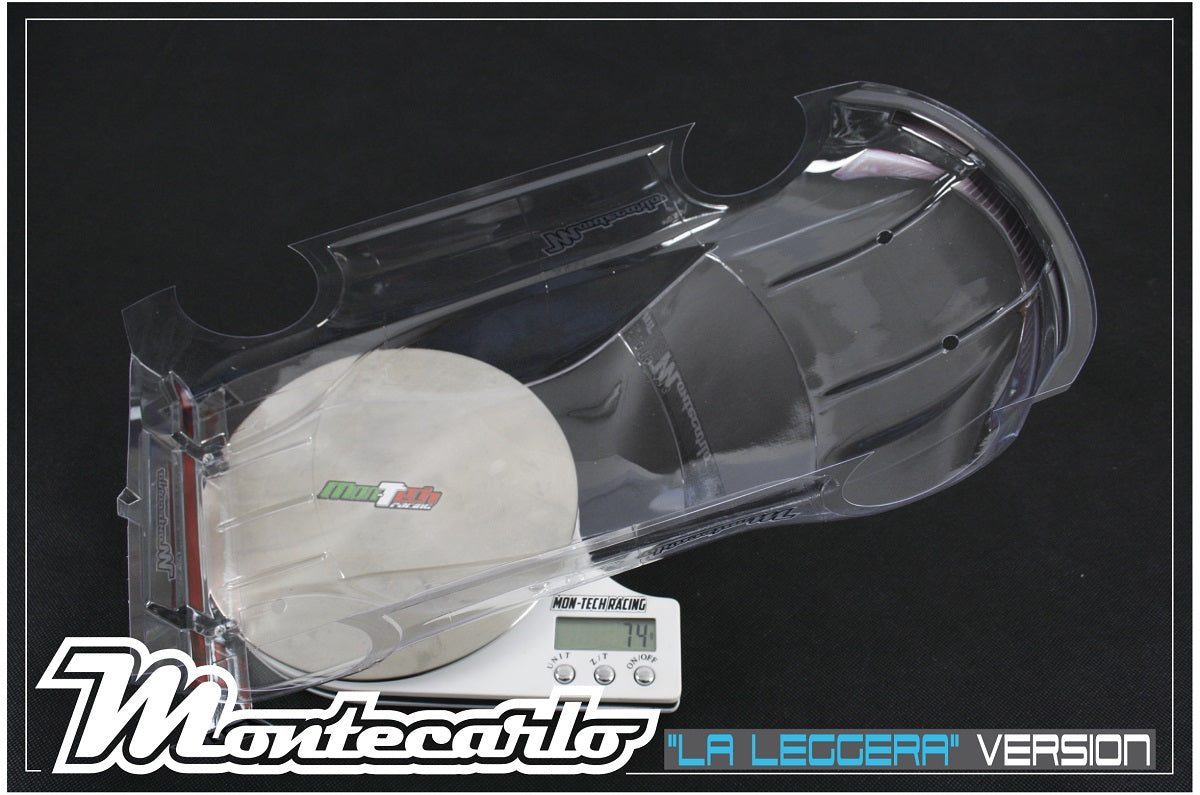 Mon-Tech Racing: Montecarlo 190mm Touring Car Body