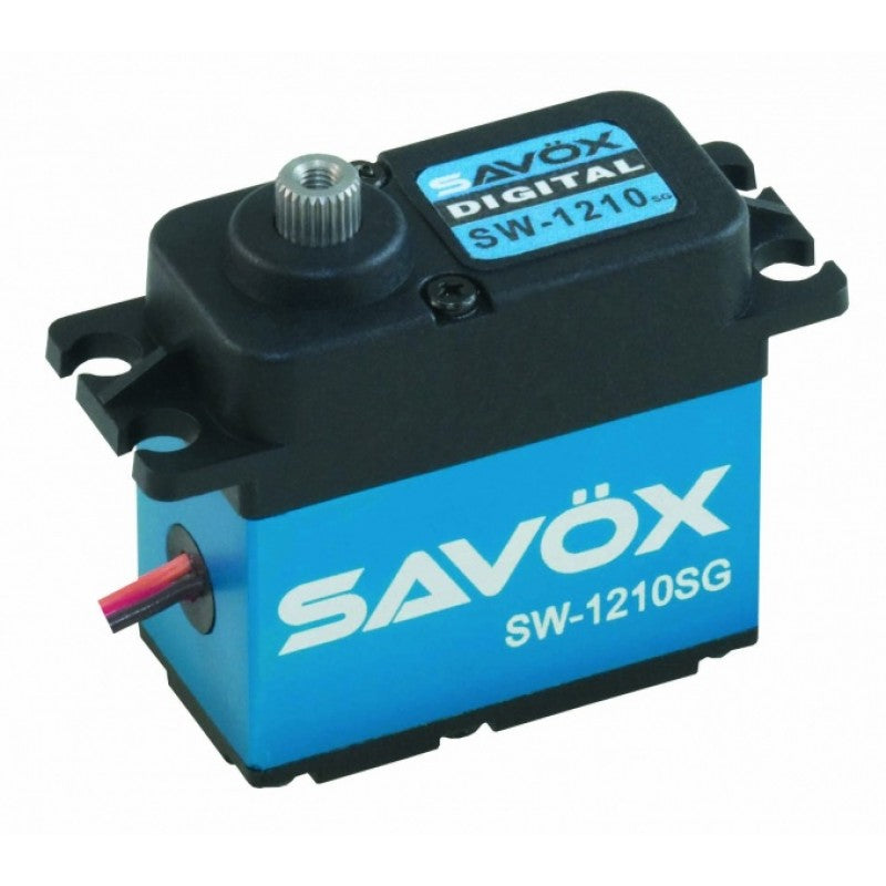 Savox: HV STD size Waterproof 32kg @ 7.4v or 20kg/cm @ 6v, Digital Coreless Motor Servo, 0.15sec, 6V, 71g, 40.6x20.7x42.0mm