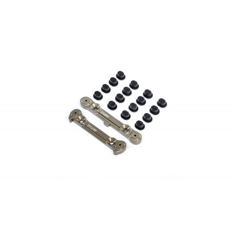 TLR: Adjustable Rear Hinge Pin Brace w/Inserts: 8X