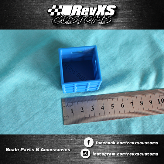 RevXS Customs: 1:10 Stackable Containers
