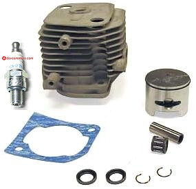 CY: RC 34mm 25.4cc Big Bore 2 Bolt Head Kit