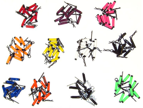 DDM Racing: 'Easy Grip' 8mm Body Clips (Pack of 10)