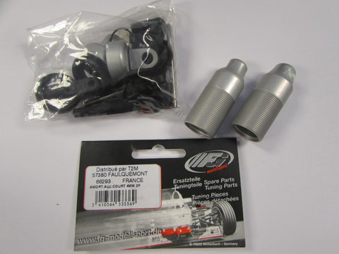 FG Modellsport: Alloy Shock Absorber 08 Short/4mm/2 Pcs - fg66293
