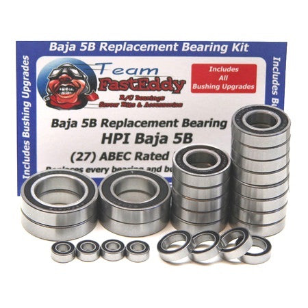 Team FastEddy: Complete Bearing Upgrade Kit for HPI Baja 5B/5T/5SC