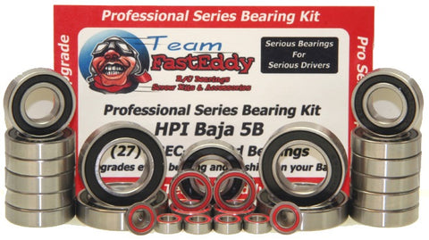 Team FastEddy: Complete Professional Series Bearing Upgrade Kit for HPI Baja 5B/5T/5SC