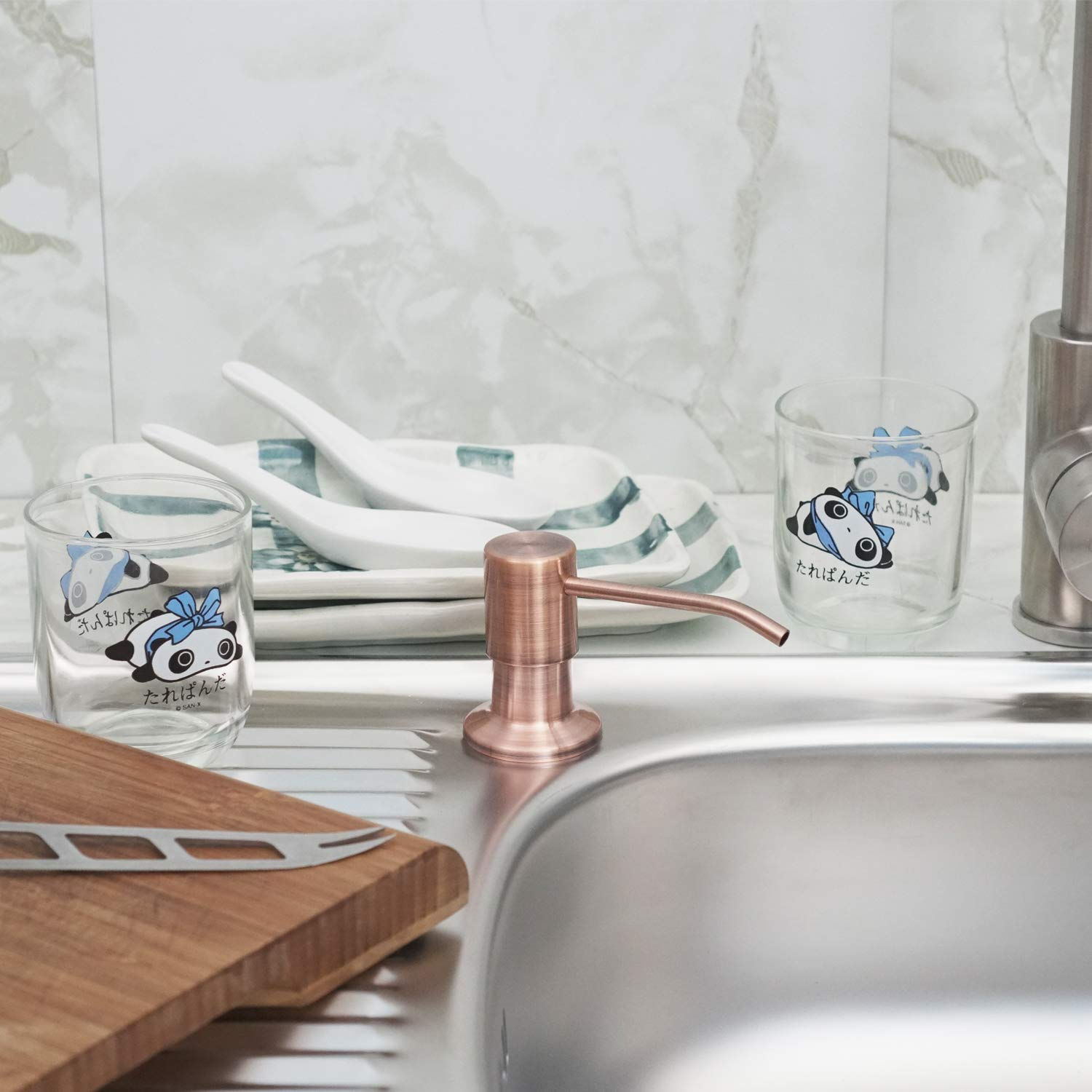 Kitchen Sink Soap Dispenser (Copper Bronze) – Kimi Cuisine