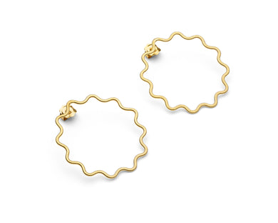 Heather Woof Ripple Earrings (collection only)