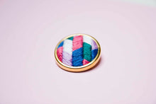 Lauren Smith - Embroidered Pin (collection only)
