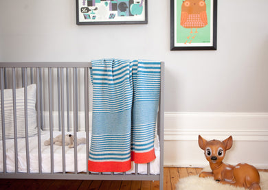 Mini McGhee Stripe Blanket (collection only)