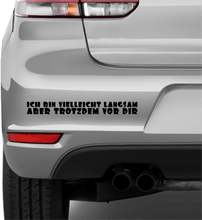 Laden Sie das Bild in den Galerie-Viewer, I may be slow... - Autosticker - Print Fresh