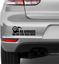 Laden Sie das Bild in den Galerie-Viewer, No Airbags - Autosticker - Print Fresh