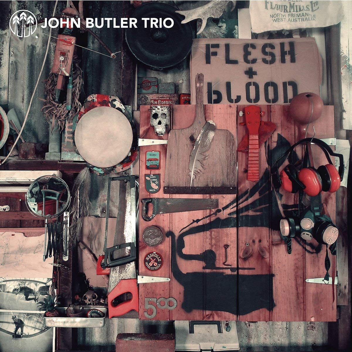 John Butler Trio 'Flesh + Blood' CD