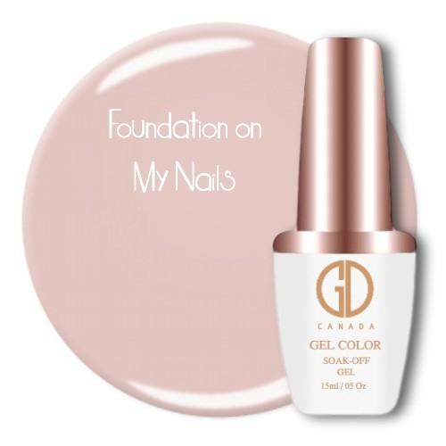 GDC 010 Foundation on My Nails