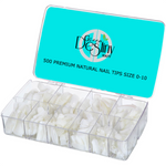 GD Premium Lite Natural Nail Tips 500 pcs