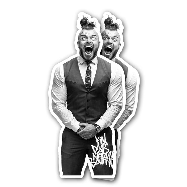"""Rob Yelling"" Stickers (2 PACK)"