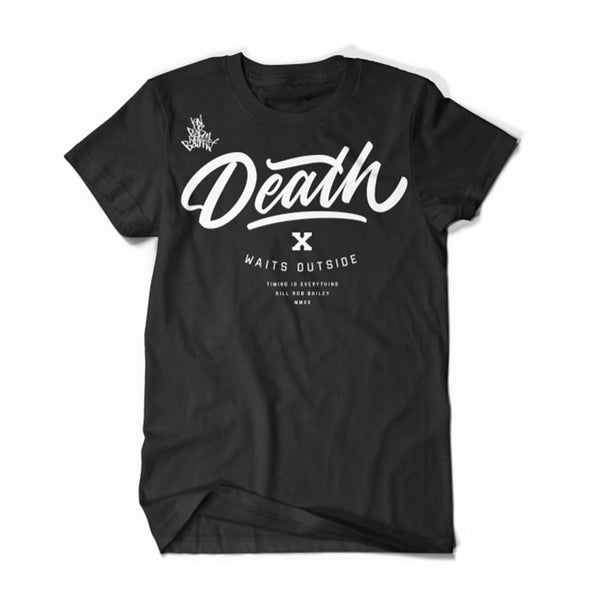 Death Waits Outside Tee