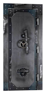 Rhino Ironworks Out-Swing Vault Door | IWVD8045 - 80X45X8.25