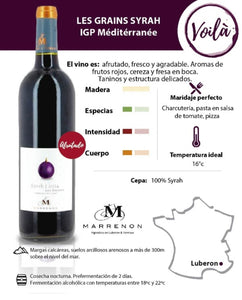 Les Grains Syrah MARRENON