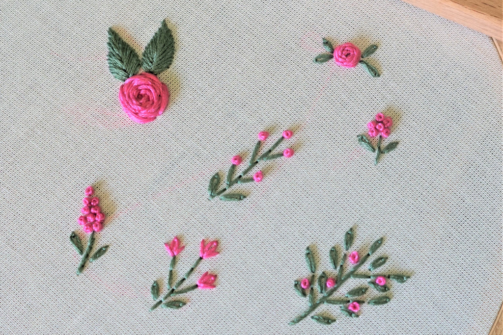 Basic Embroidery Stitches for Beginners - Part 2