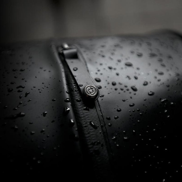 Backpacks with Water-Repellent Coating