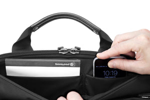 Booq Superslim 15-inch Macbook bag with iPhone compartment