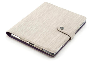 PET fabric ipad-3-case-notepad for iPad 2-4