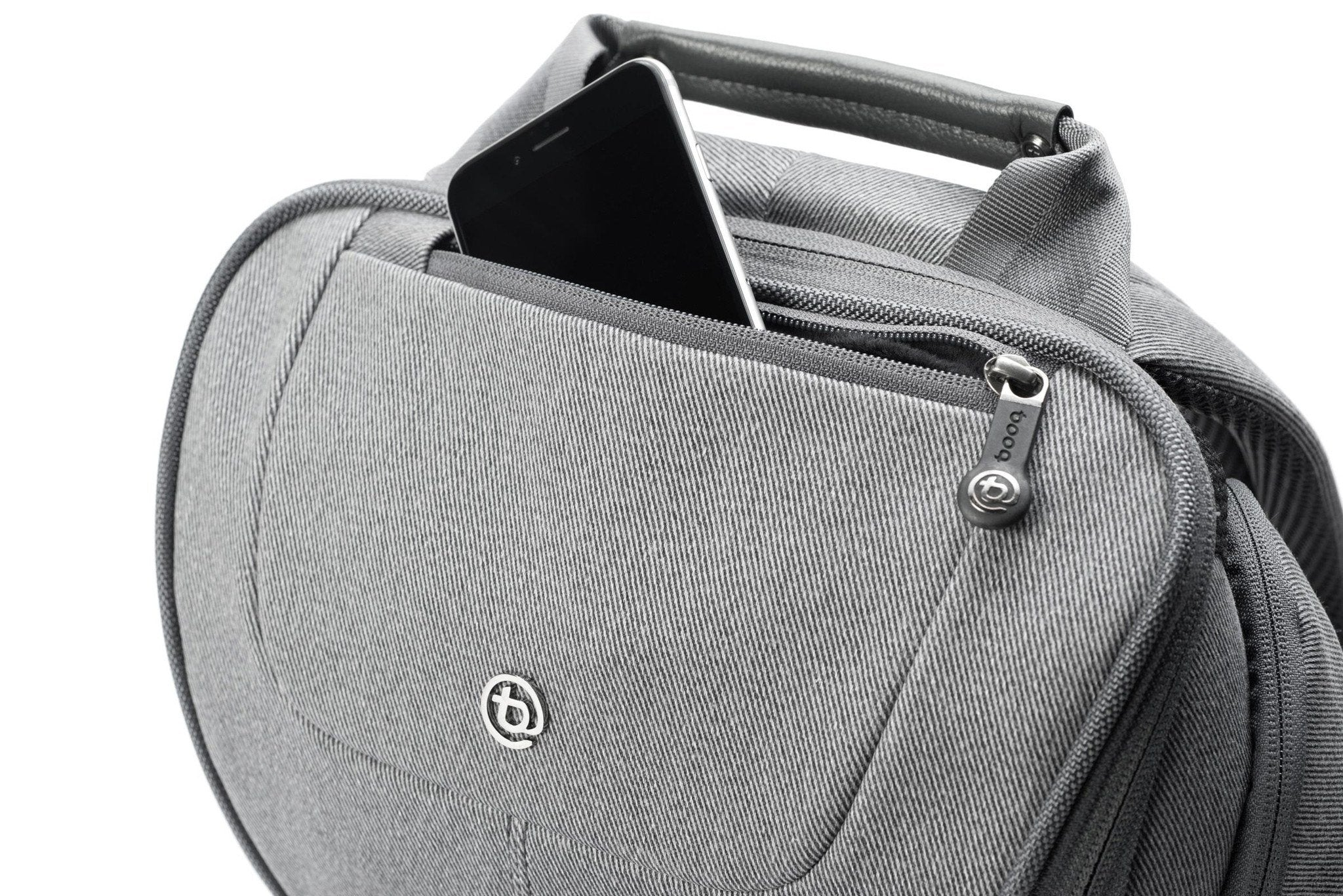 2aa324ffd31d ... Spacious Macbook Laptop Backpack with Leather Details for 15