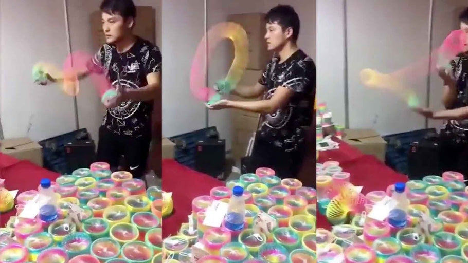 Interview with a Chinese Slinky Master