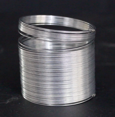 A permanently bent metal Slinky®