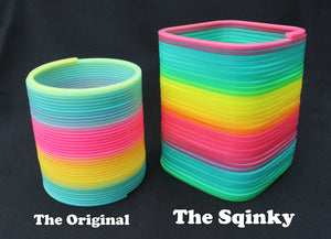The Squinky vs The Original Rainbow Magic Spring