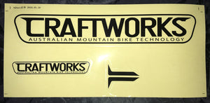 "Craftworks ""Tag the World"" Sticker Kit"