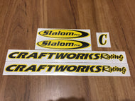 Custom Craftworks Decal Set - from $49.95