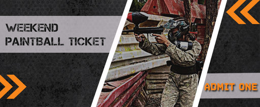 Weekend Paintball Ticket