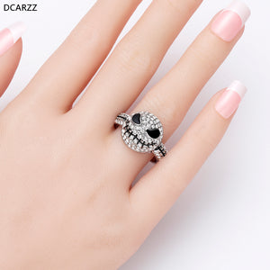SPECIAL  OFFER 50% OFF ONLY TODAY!! STERLING SILVER JACK SKULL RING