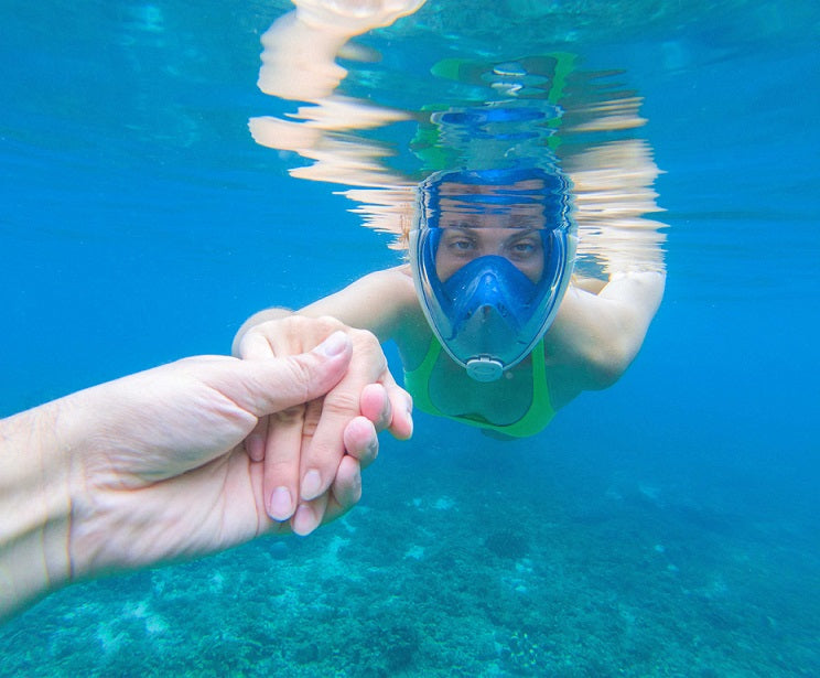 50% OFF ONLY TODAY!!! - WaterLungs™ - Full Face Snorkel Mask